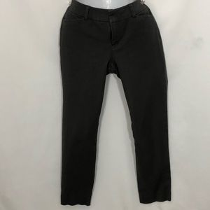 OLD NAVY PIXIE mid rise cropped gray pants